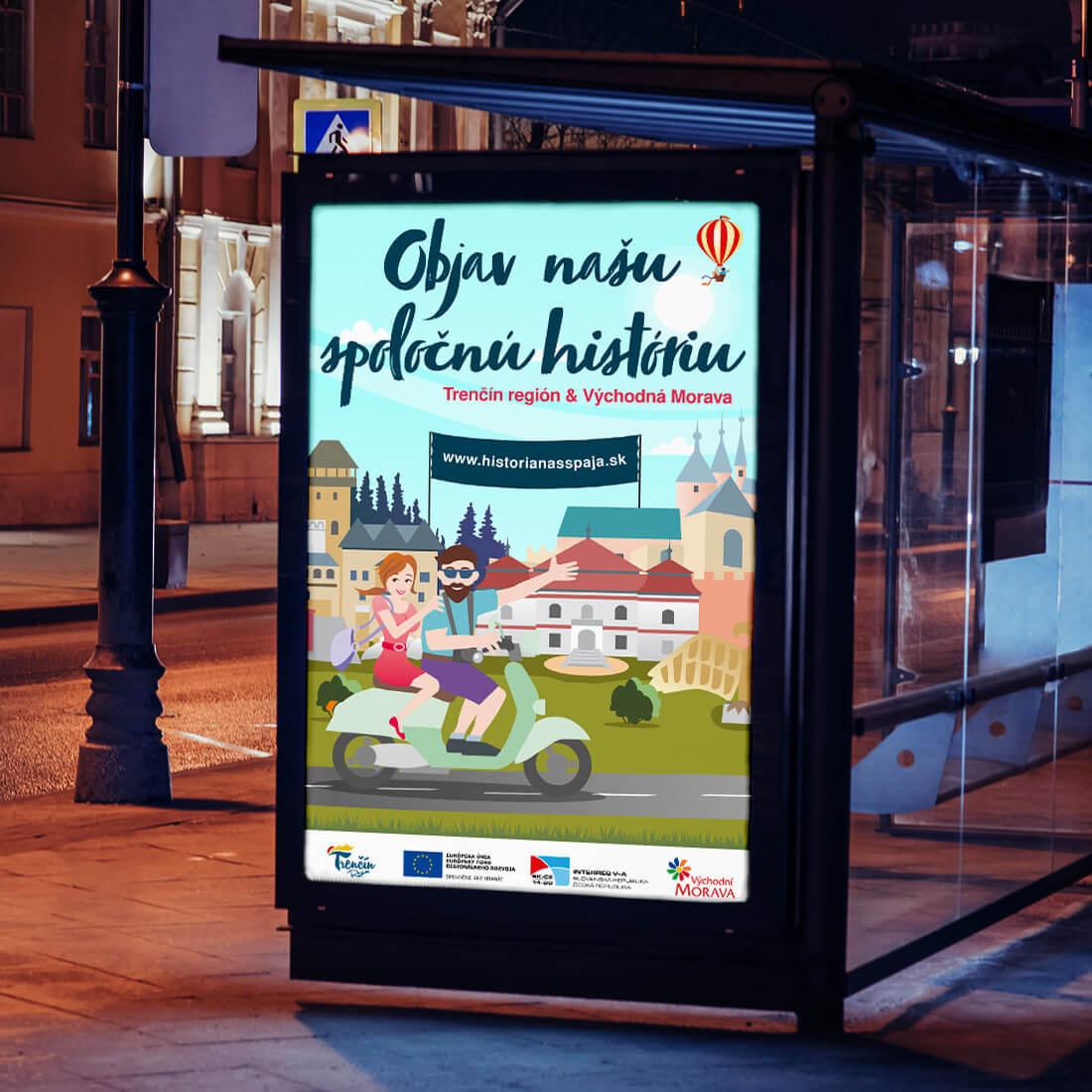 Celoslovenská reklamná kampaň pre Trenčín Región